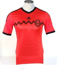 Adidas ClimaCool Mexico 2014 World Cup Red Short Sleeve Football Jersey Men's