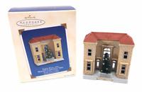 2003 Hallmark Town Hall Mayors Christmas Tree Ornament Nostalgic Houses & Shops