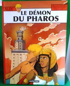 ALIX - T 27 - LE DÉMON DE PHAROS - Par Jacques Martin & Weber  Casterman EO 2008