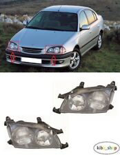 FOR TOYOTA AVENSIS T22 1997 - 1999 2X NEW FRONT HEADLAMPS LEFT + RIGHT LHD