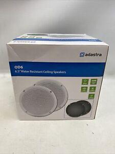 """Adastra OD6-W8 OD Series 100W 6.5"""" Water Resistant Ceiling Speakers (Pair)"""
