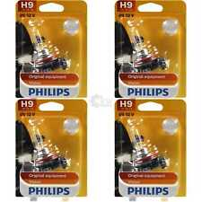 4x Philips Vision H9 12V 65W Sockel PGJ19-5 30% mehr Licht