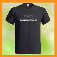 Chevrolet Caprice Logo Chevy NEW Men's Black T-Shirt S M L XL 2XL 3XL
