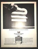 Life Magazine Ad POLIDENT1961 Ad
