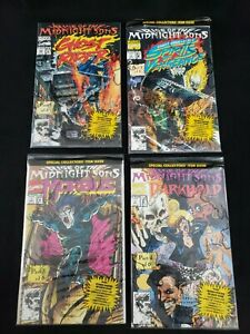 Marvel Comics - Rise of the Midnight Sons Darkhold Parts 1, 2, 3 & 4 of 6