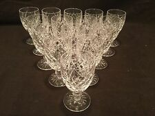 """SET OF 15 WATERFORD  CLARET WINE GLASSES 4 3/4"""" H IN THE DONEGAL PATTERN"""