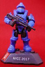 Halo Mega Bloks NYCC Blue Spartan Centurion