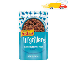 New listing (16 Pack), Lil' Grillers Seared Cuts With Tuna, Friskies Gravy Wet Cat Food.