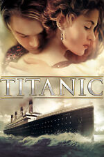 TITANIC MOVIE * Jack & Rose *  QUALITY CANVAS PRINT