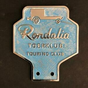 RONDALIA TOERKLUB TOURING CLUB CAR BADGE EMBLEM SOUTH AFRICAN