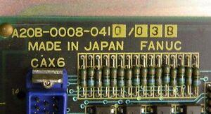 Fanuc 6 Mother Board  A20B-0008-0410 WITH 6 M WARRANTY