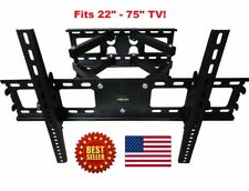 Full Motion 809 Plasma LCD TV Wall Mount 32 37 40 42 46 47 50 52 55 60 65 70