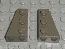 LEGO Star Wars OldDkGray wedges ref 6564 & 6565 / set 7151 &  7191