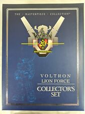 Toynami Masterpiece Voltron 20th Anniversary Lion Force Collector Set Used