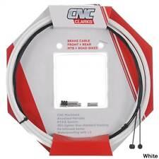 Clarks CNC ZERO-G Lightweight Mountain Bike Brake Cable Kit - WHITE