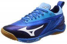 Mizuno Table Tennis Shoes Wave Drive Neo 81Ga1800 Navy White Blue With Tracking