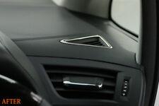Chrome A/C Duct Rim Garnish for Toyota Vellfire Alphard 3rd Gen Interior Trim