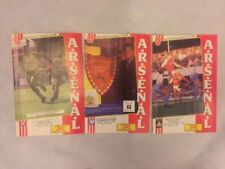 Arsenal Home Team Football Programme Collections/Bulk Lots
