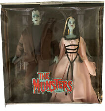 The Munsters Herman & Lily Barbie & Ken Gift Set Collector Edition NIB NRFB