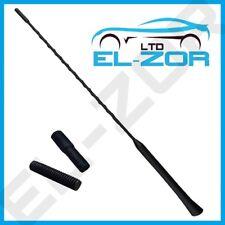 New Car Black Rubber Beesting Upgrade Aerial Antenna Arial Mast AM/FM 41.5cm 12v
