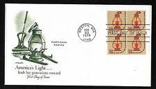 #1612  $5 Railroad Lantern - Artmaster FDCB4