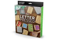 Letter Pressed Cookie Cutters