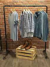 Clothing Rack Industrial Garment Racks Vintage Style Clothes Racks Retail Rack