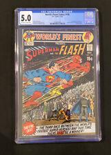 CGC 5.0 World's Finest #198 KEY 3rd Superman versus Flash race part one (11/70)