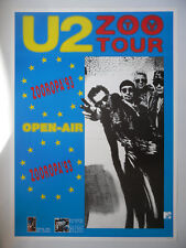 U2 U 2 ZOO TV TOUR poster dimension environ 61 x 86 cm