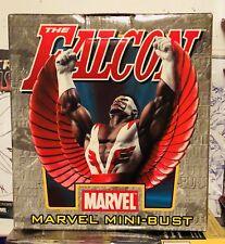 The Falcon Bowen mini bust statue, Marvel Limited, Rare!