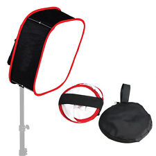 Universal Instant Foldable Collapsible Softbox Diffuser For LED Light Panel#J