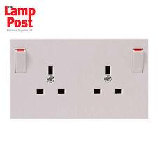 SINGLE TO DOUBLE SOCKET CONVERTER - Turn 1 Gang 13 Amp Plug Sockets into 2 Gang