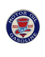 Embroidered Patch Gasoline and Oil Advertising Gas and Oil Transportation 3.75