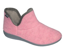 Scholl Creamy Bootie Slippers Boots in Pink Various Sizes