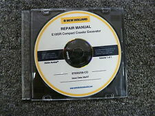 New Holland Model E18SR Compact Crawler Excavator Shop Service Repair Manual CD