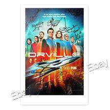The Orville - Cast mit Seth MacFarlane - 12 fach signiertes Autogramm laminiert