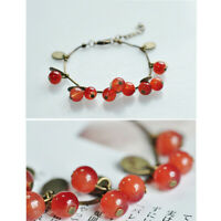 Charm Boho Cherry Bracelet Anklet Chain Beach Sandal Jewelry For Women Girls