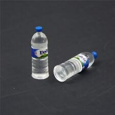 2x bouteille d'eau potable miniature DollHouse 1:12 jouet accessoire collectio t