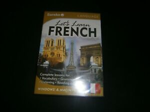 EUREKA : LETS LEARN FRENCH Language Course Complete Lessons CD For Student