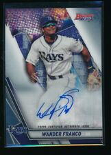 Wander Franco Auto 2019 Bowman's Best Autograph Tampa Bay Rays Rookie Card Rc