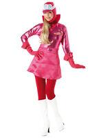 Adult Wackey Races Penelope Pitstop Fancy Dress Costume Ladies Womens Female BN