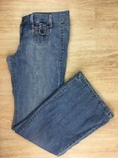 Used Womens 6 Reg Old Navy The Dive Light Wash Denim Blue Stretch Hipster Jeans