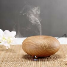 Wooden Air Humidifier Ultrasonic Oil Mist Steam Diffuser Purifier Aromatherapy