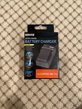 Bower Ultra Rapid Battery Charger Canon Nb-11L