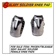 Phicen/TBLeague Hot Galaxy Soldier Knee Guards for 1/6 12 in scale Toys