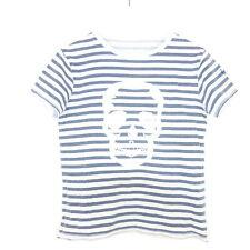 ZADIG & VOLTAIRE Boys T-Shirt Streifen Skull Gr. 8 128
