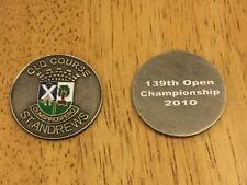 2010 BRITISH OPEN St Andrews Logo Golf Ball MARKER New LOUIS OOSTHUISEN