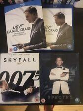 James Bond Daniel Craig Casino Royale Quantum Of Solace Skyfall Spectre Blu Ray