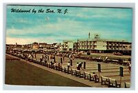 Shuffleboard Courts & Rio Motel Wildwood-by-the-Sea NJ c1959 Chrome Postcard J25