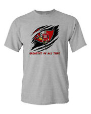Tom Brady GOAT Custom Shirt Greatest Of All Time Bucs Football Fan Shirt New